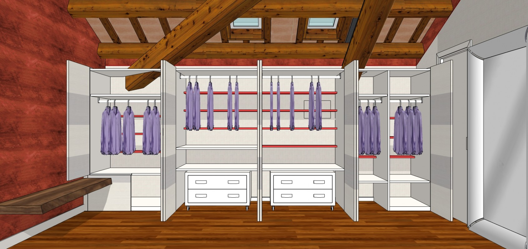 Cabina armadio 19