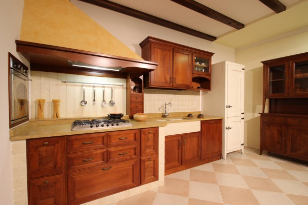 Cucina Country in legno 15