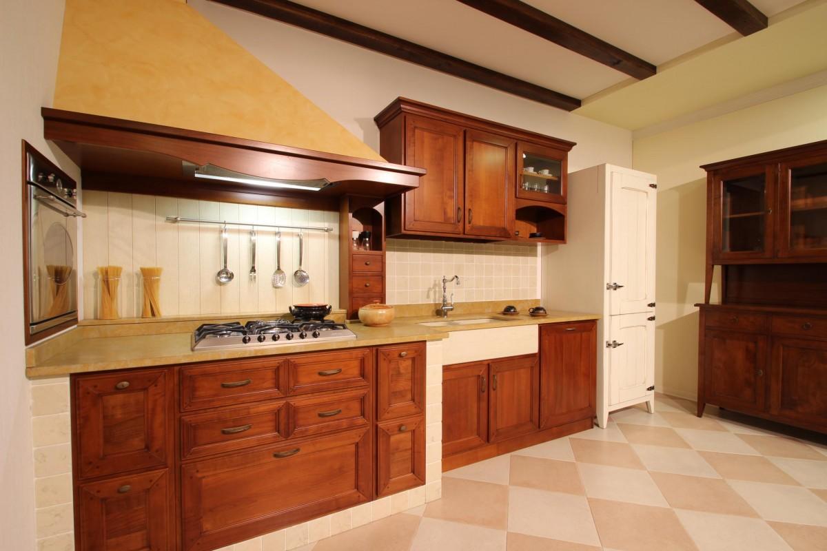 Cucina Country in legno 15