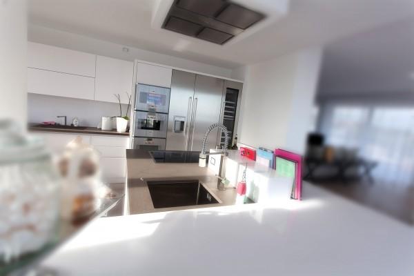 2 Cucina moderna bianco opaco