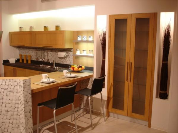 11 Cucina rovere naturale