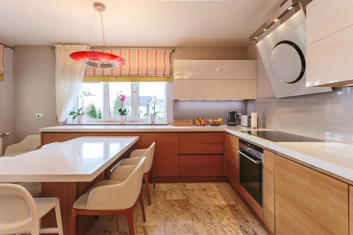 15 cucina moderna rovere e bianco lucido er ma da - Cucina rovere bianco ...