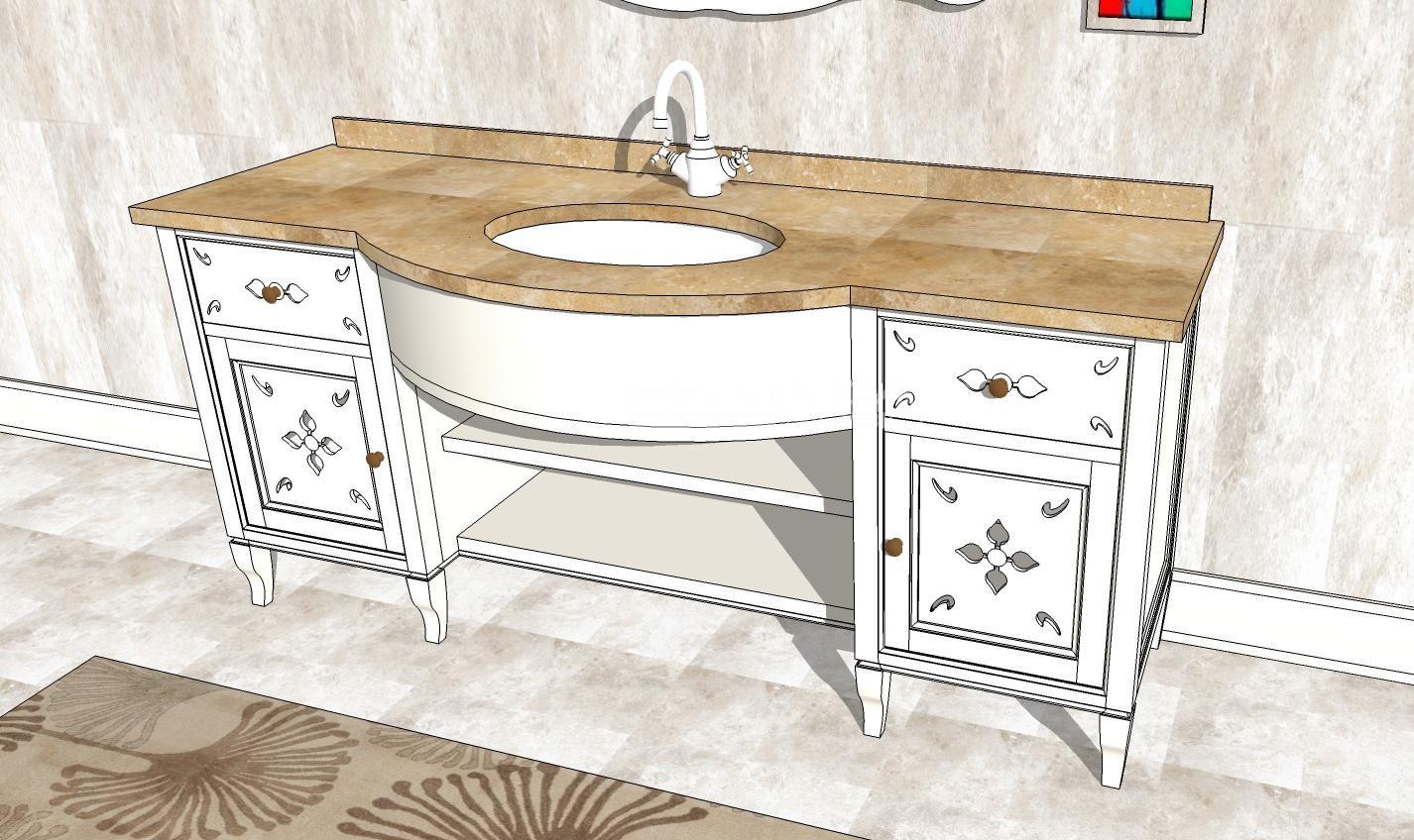 Bagno 6 er ma da mobilificio progetta e costruisce for Progetta i tuoi mobili