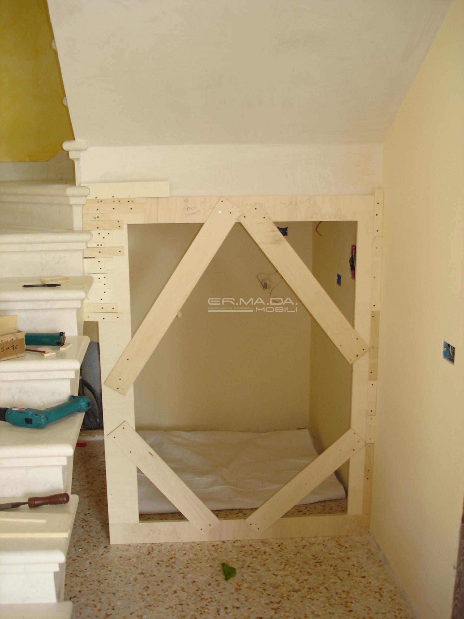 Sottoscala er ma da mobilificio progetta e for Progetta i tuoi piani di costruzione