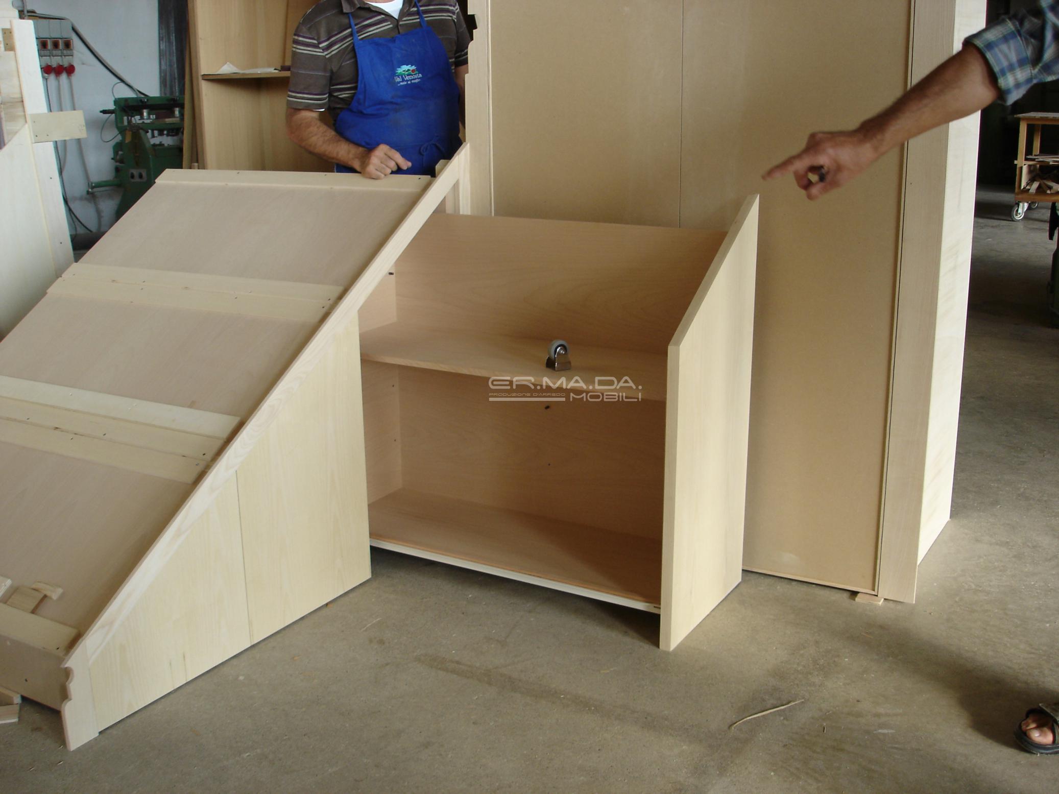 Sottoscala er ma da mobilificio progetta e for Progetta i tuoi mobili online