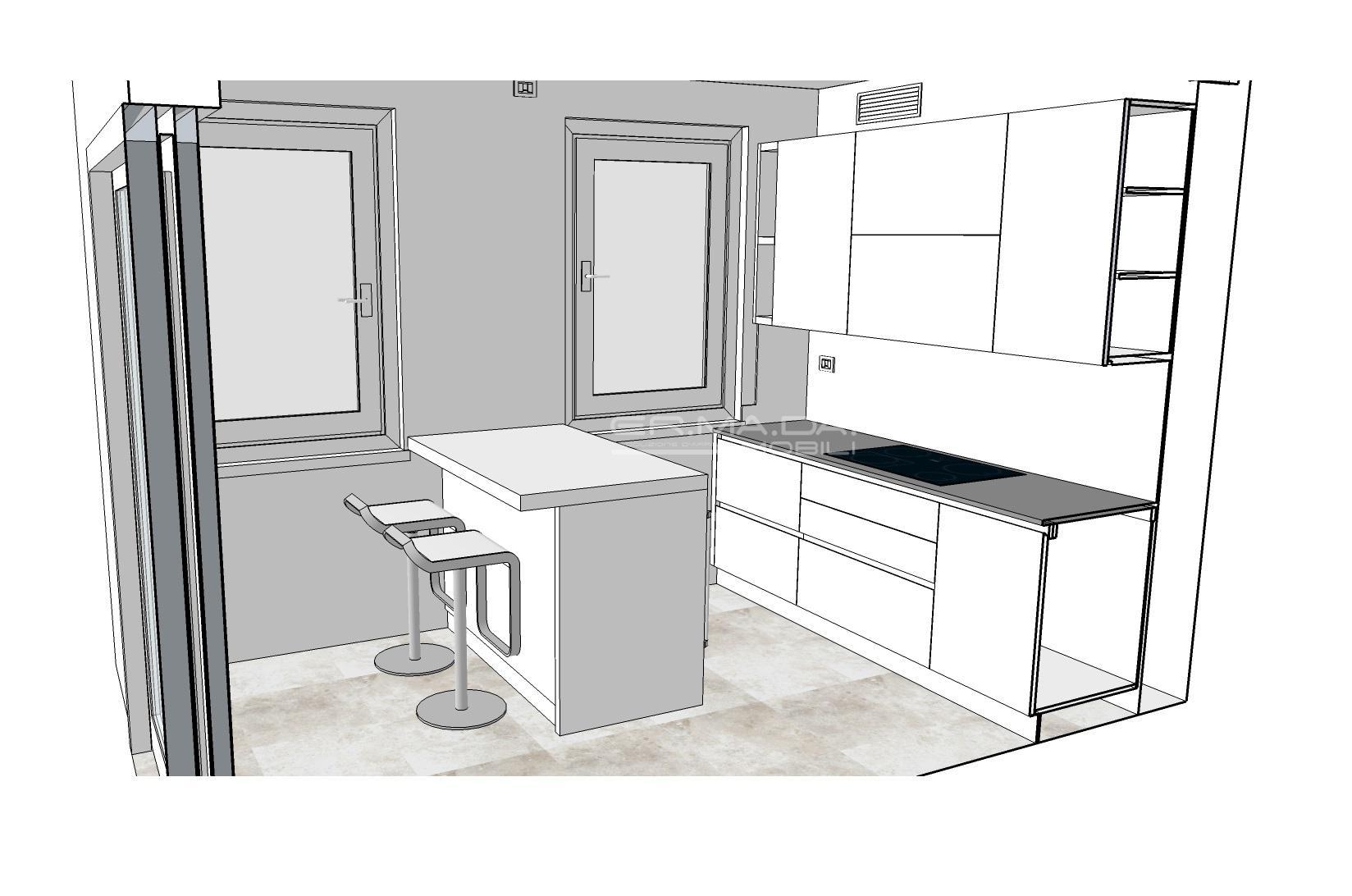 Cucina 13 er ma da mobilificio progetta e for Progetta i tuoi mobili
