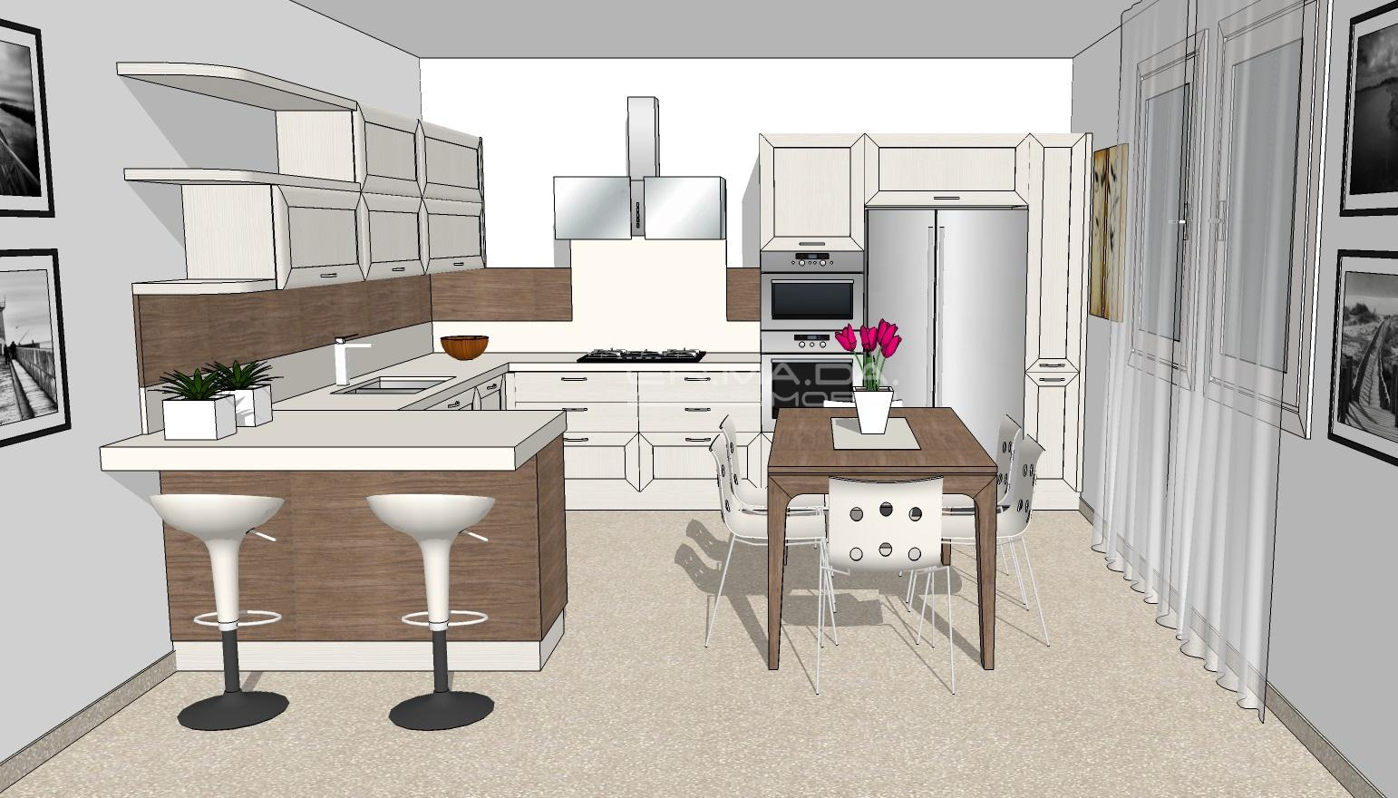 Cucina 15 er ma da mobilificio progetta e for Progetta i tuoi mobili online