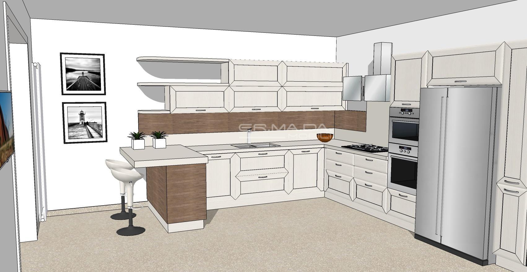 Cucina 15 er ma da mobilificio progetta e for Progetta i tuoi mobili