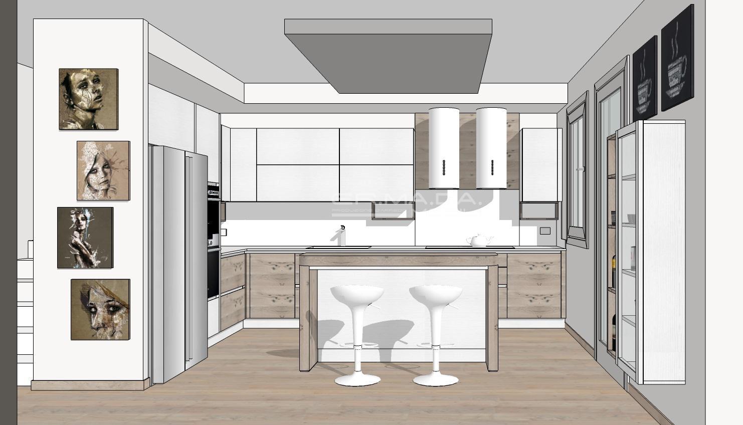 Cucina 16 - ER. MA. DA. Mobilificio - Progetta e costruisce i tuoi ...