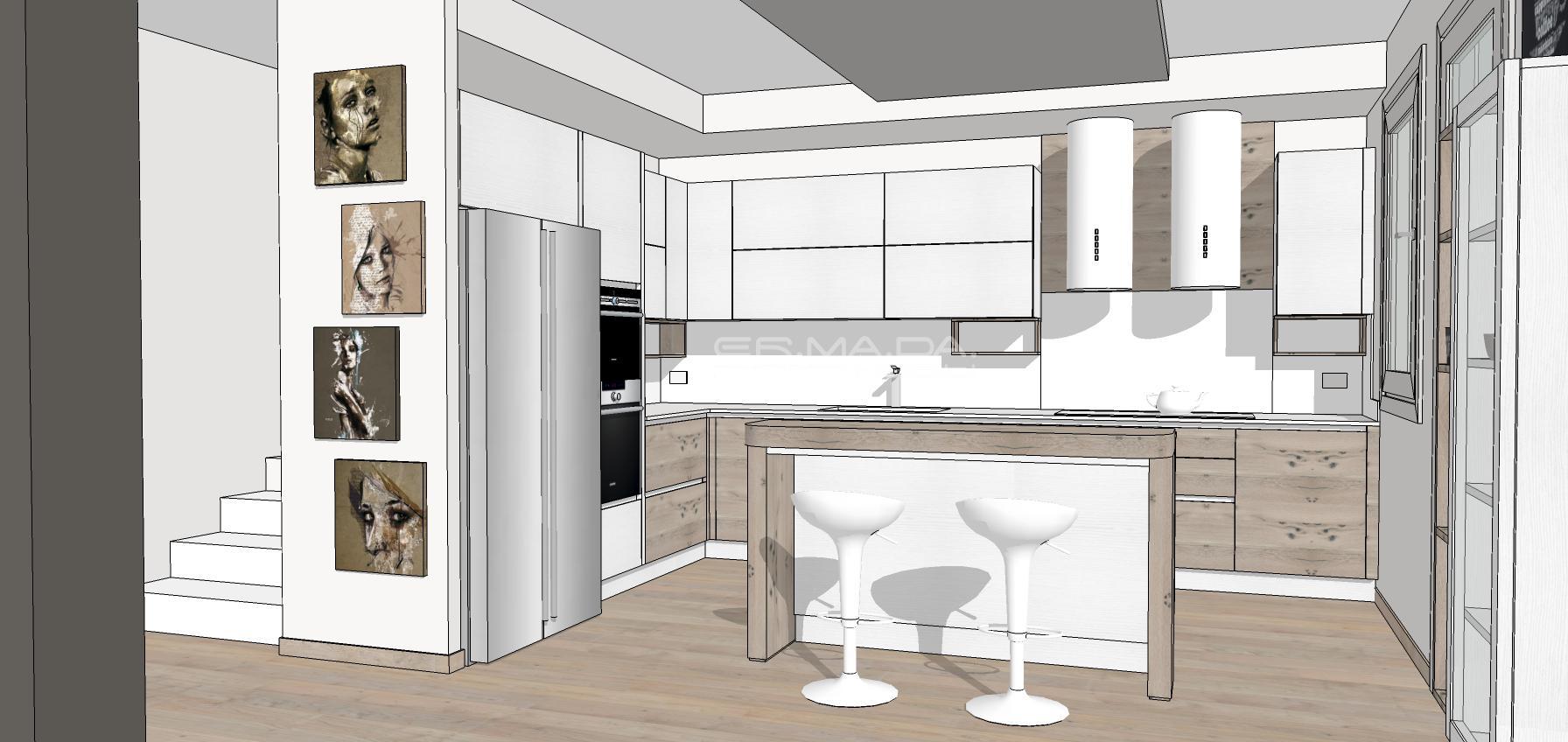 cucina 16 er ma da mobilificio progetta e