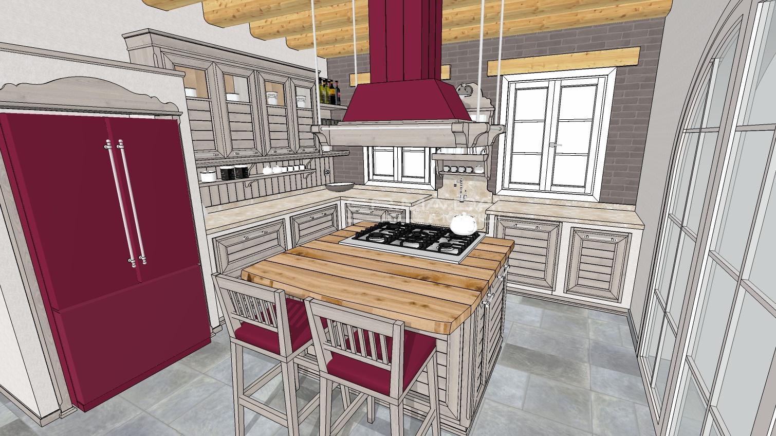 Cucina 17 er ma da mobilificio progetta e for Progetta i tuoi mobili online