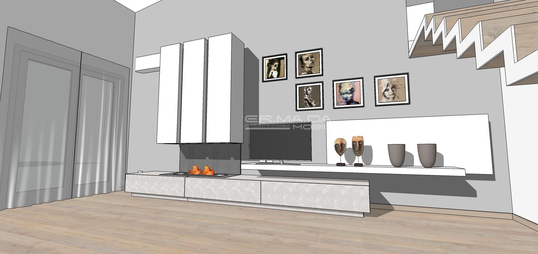 Living 9 er ma da mobilificio progetta e costruisce for Progetta i tuoi mobili online