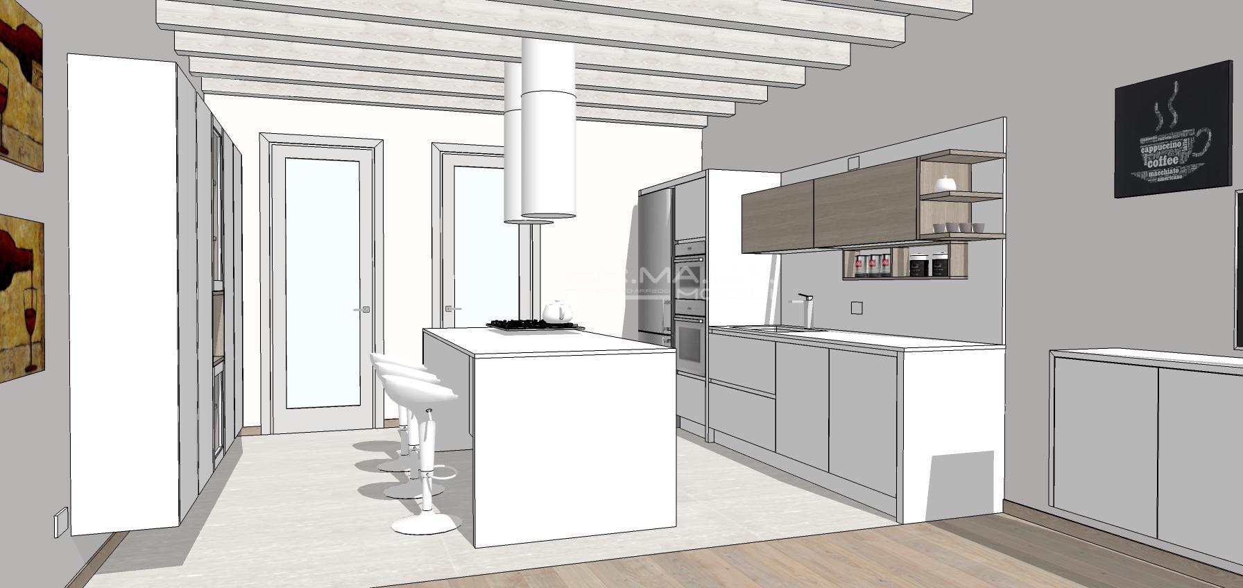 Cucina 18 er ma da mobilificio progetta e for Progetta i tuoi mobili online