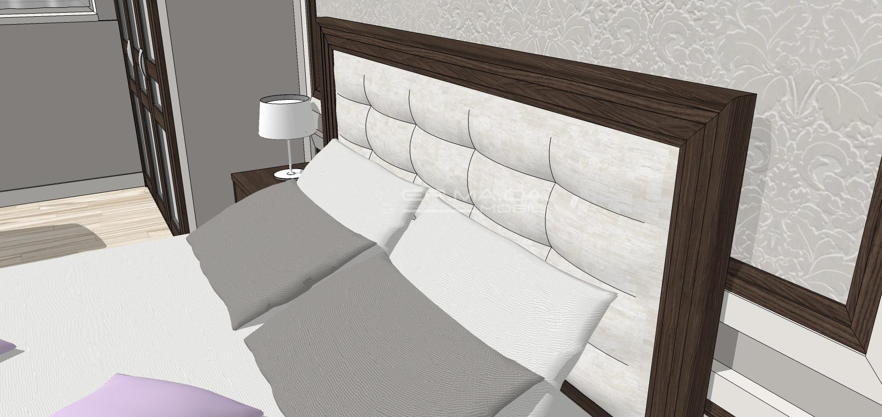 Camera matrimoniale 20 er ma da mobilificio for Progetta i tuoi mobili online