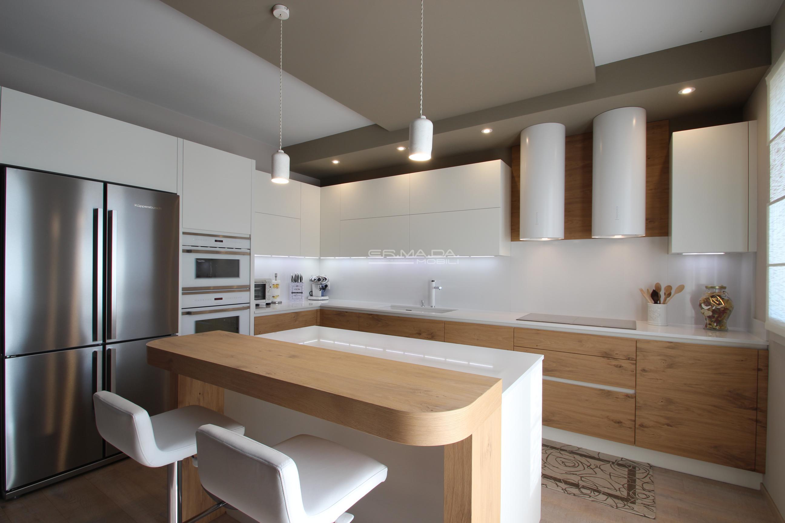 19 cucina rovere nodato naturalizzato er ma da mobilificio progetta e costruisce i tuoi - Cucine in rovere ...