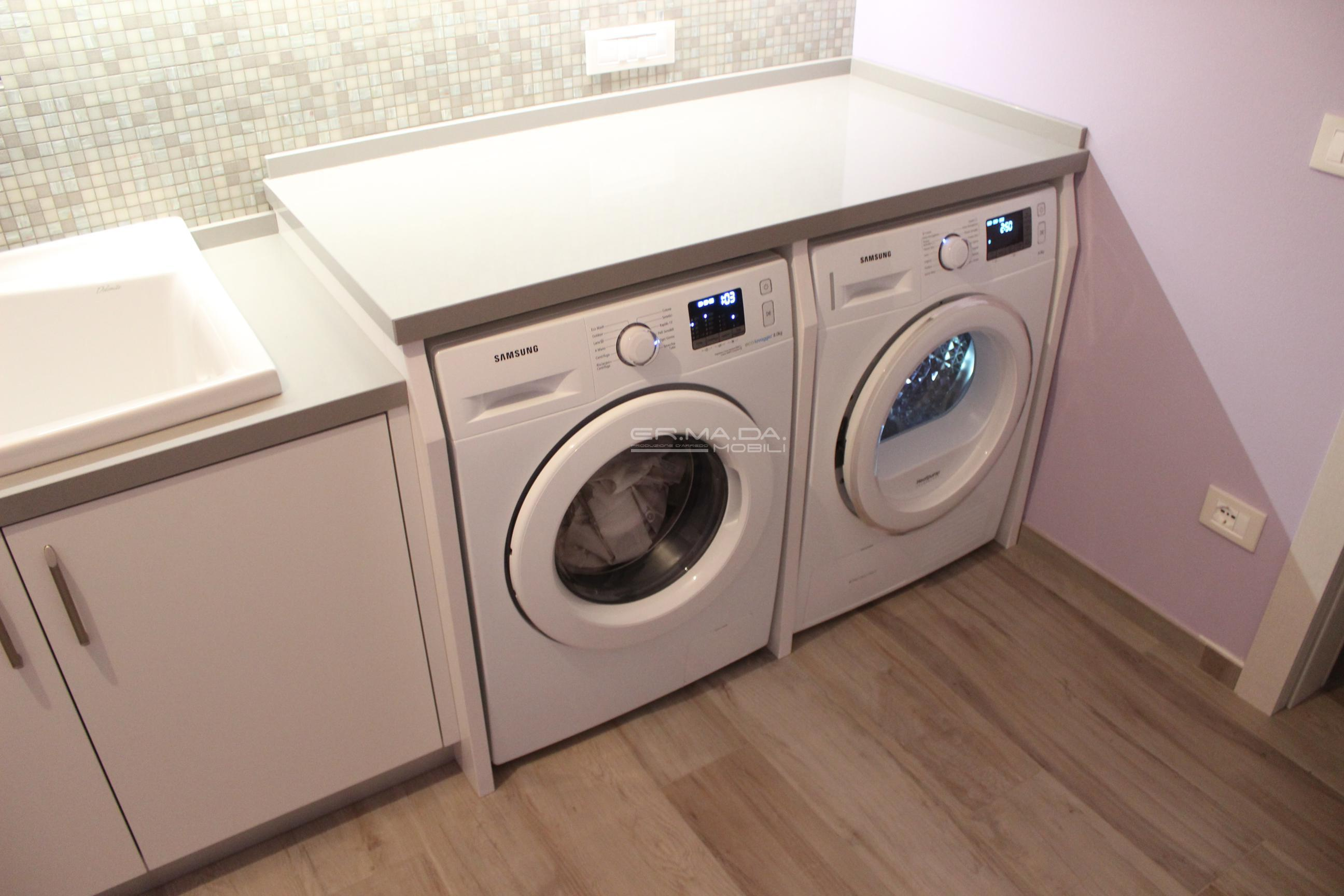 Bagno lavanderia 9 - ER. MA. DA. Mobilificio - Progetta e costruisce ...