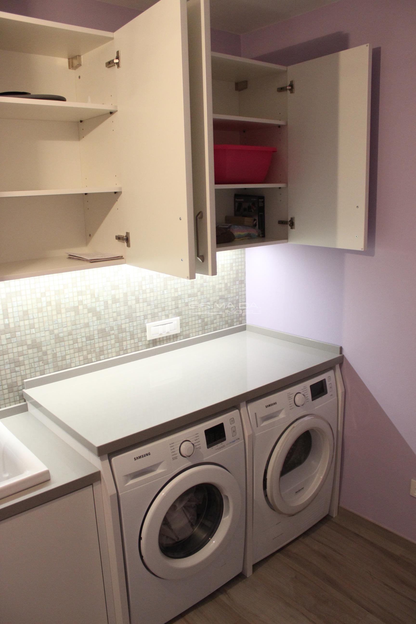 Bagno lavanderia 9 er ma da mobilificio progetta e - Bagno lavanderia ...