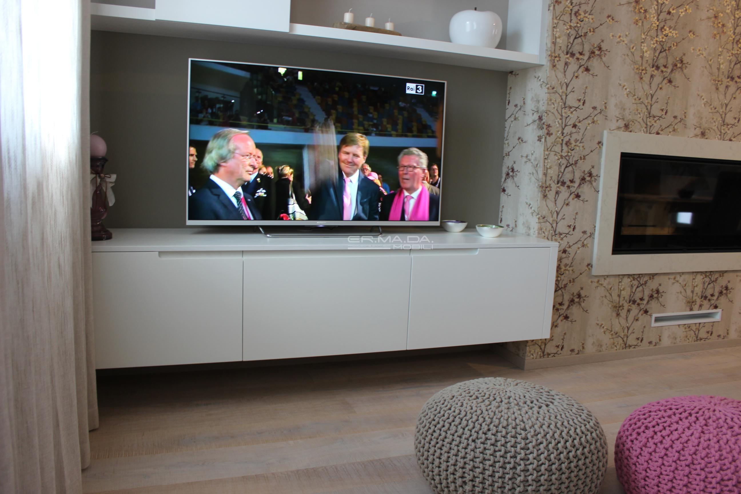 13 Mobile tv sospeso - ER. MA. DA. Mobilificio - Progetta e ...