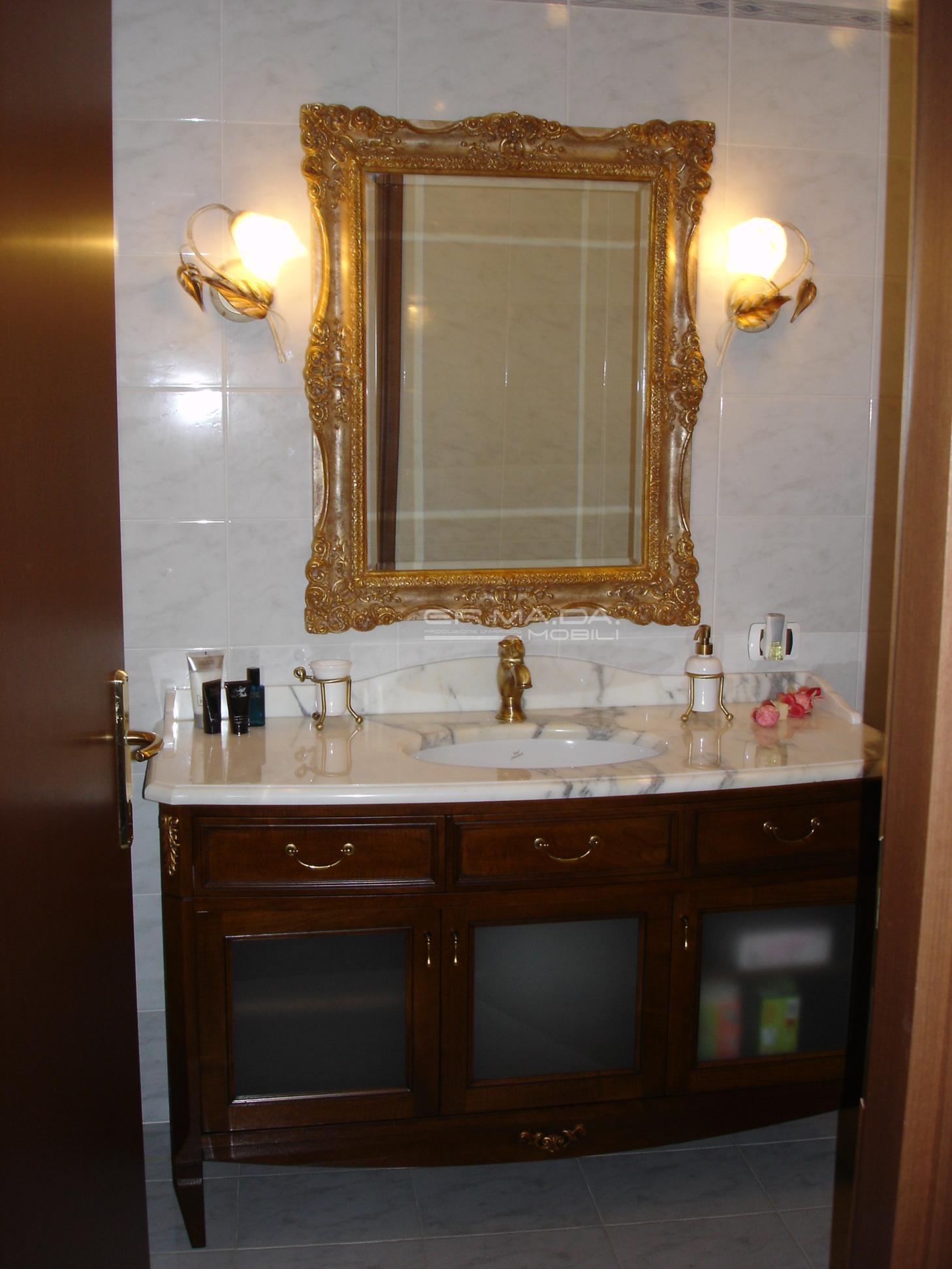 Bagni classici 12 er ma da mobilificio progetta e costruisce i tuoi mobili - Mobili per bagni classici ...