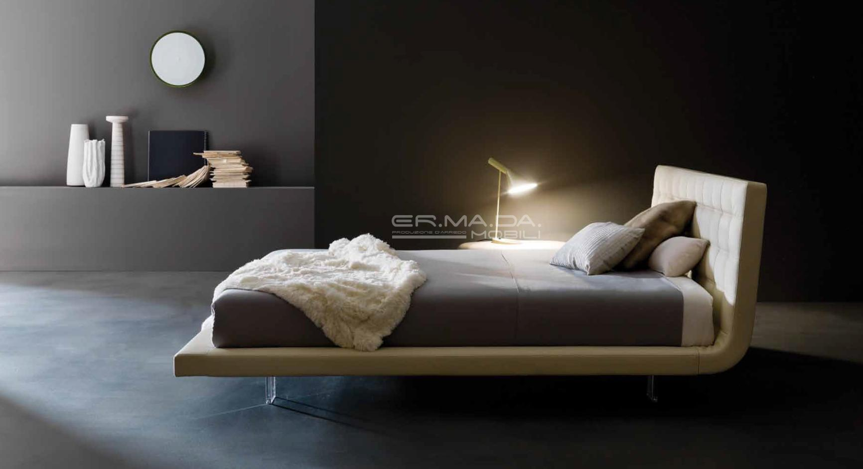 31 letto moderno imbottito er ma da mobilificio for Letto imbottito moderno