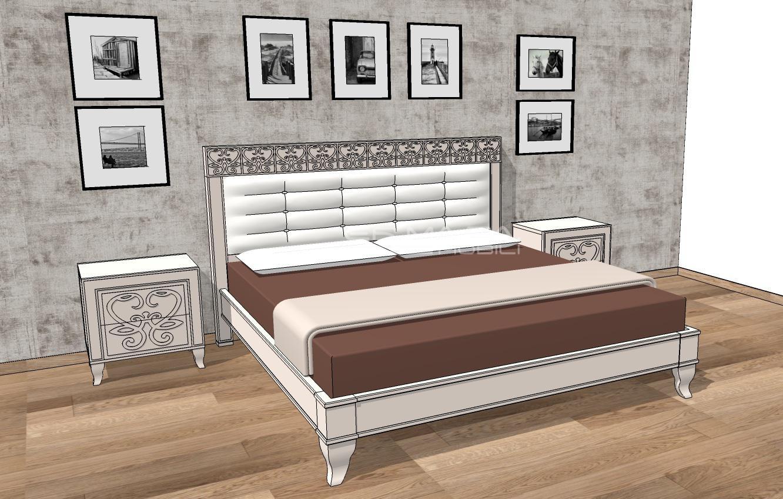 Camera matrimoniale 1 er ma da mobilificio progetta for Progetta i tuoi mobili online