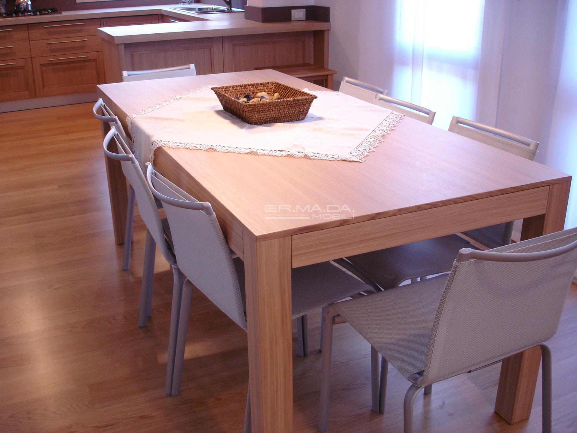 7 Cucina rovere naturale a telaio - ER. MA. DA. Mobilificio ...