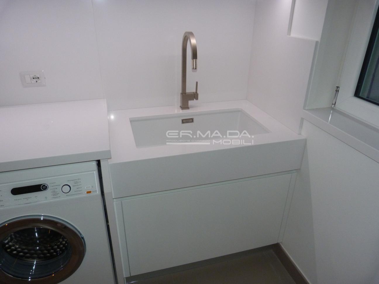 Bagno lavanderia 6 er. ma. da. mobilificio progetta e costruisce