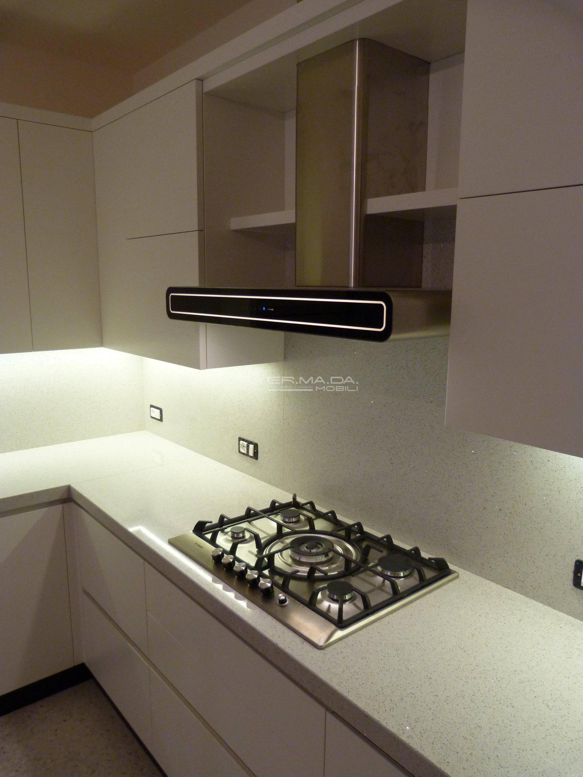 16 Cucina moderna laccata frassino bianco - ER. MA. DA. Mobilificio ...