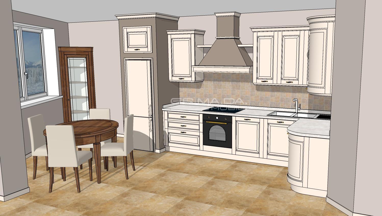 Cucina 7 er ma da mobilificio progetta e costruisce for Progetta i tuoi mobili