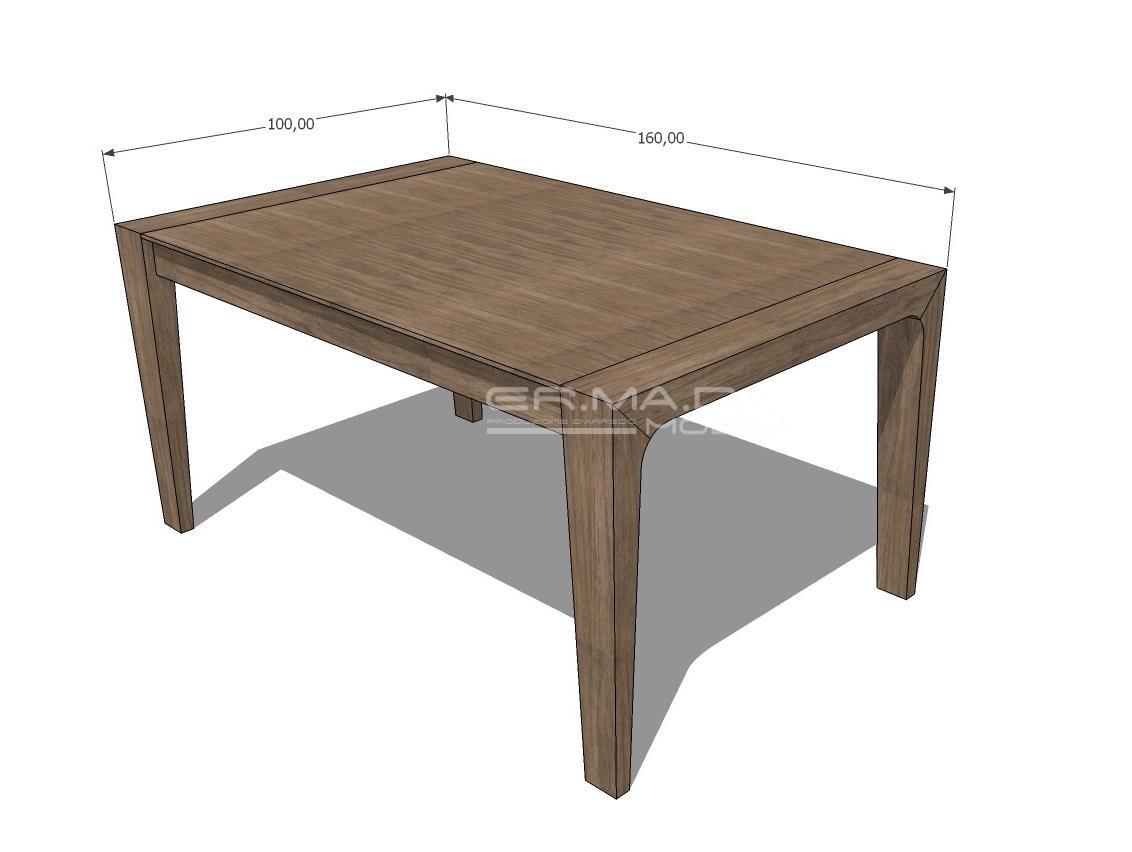 Tavolo allungabile 11 er ma da mobilificio progetta - Progetto tavolo allungabile ...